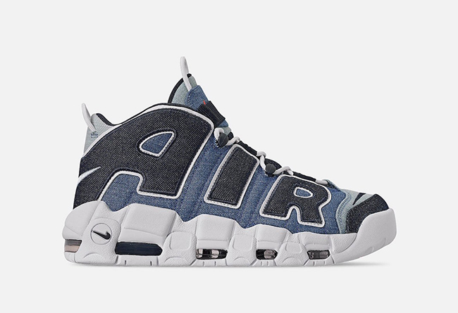 "Nike Air More Uptempo ""Denim"" 货号:CJ6125-100"