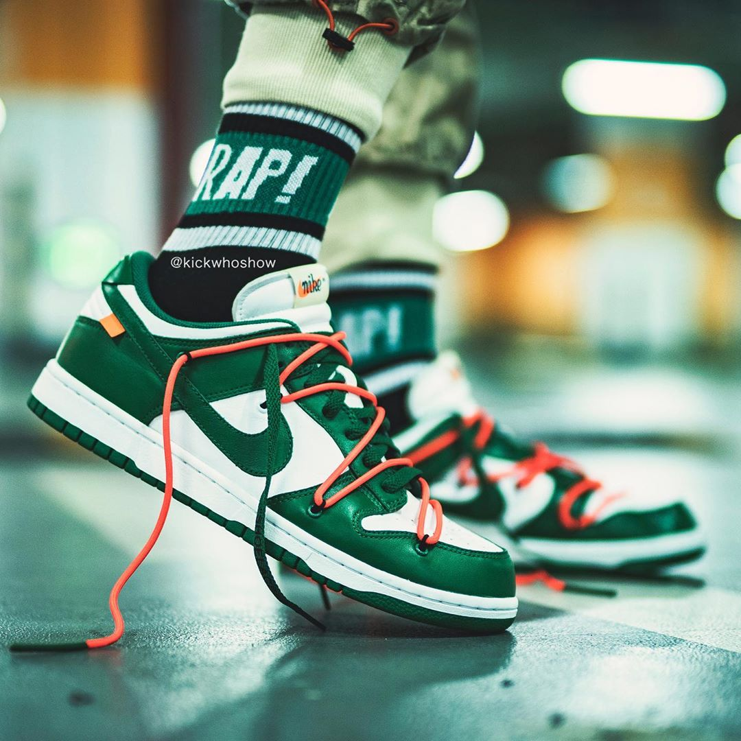 OFF-WHITE x Nike Dunk Low 货号:CT0856-700​​​​​​​ / CT0856-600 / CT0856-100