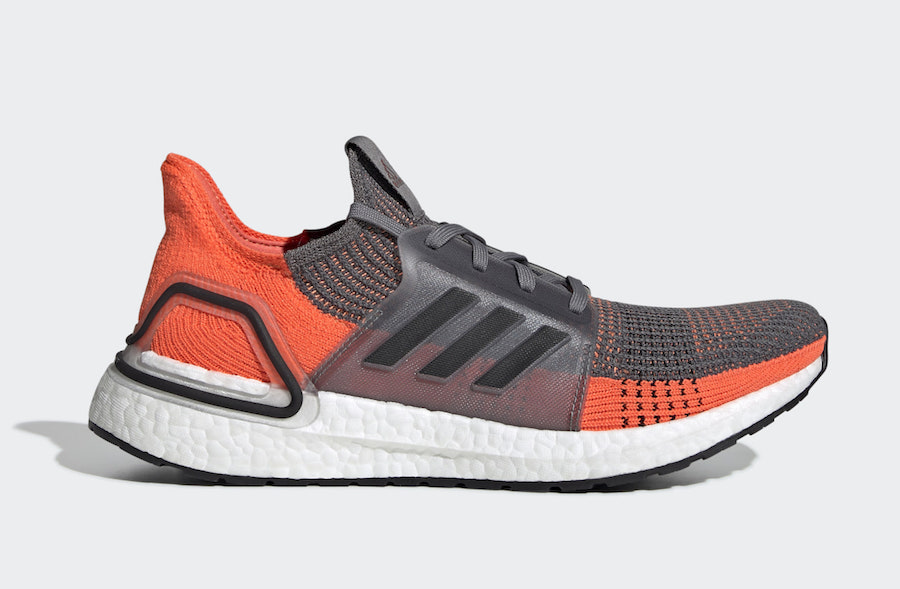 "adidas Ultra Boost 19 ""Hi-Res Coral"" 货号:G27517"