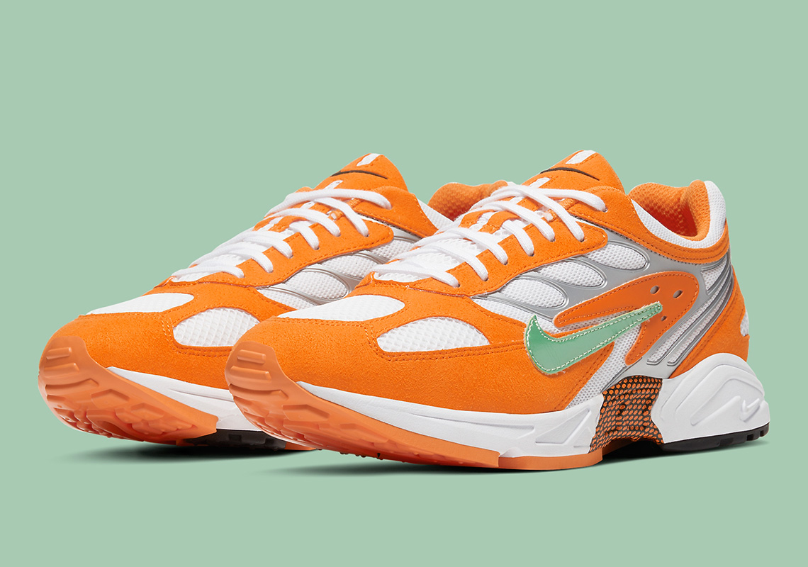 "Nike Air Ghost Racer ""Orange Peel"" 货号:AT5410-800"