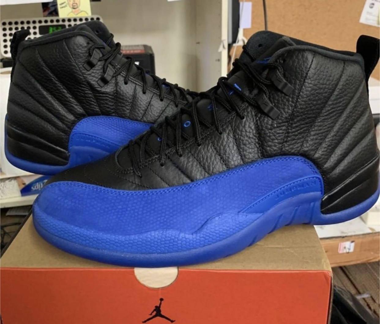 "Air Jordan 12 ""Game Royal"" 货号:130690-014"