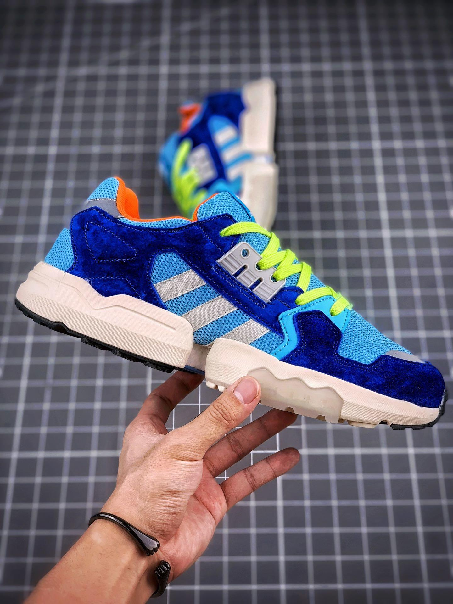 adidas Originals ZX Torsion ZX 宝蓝浅兰