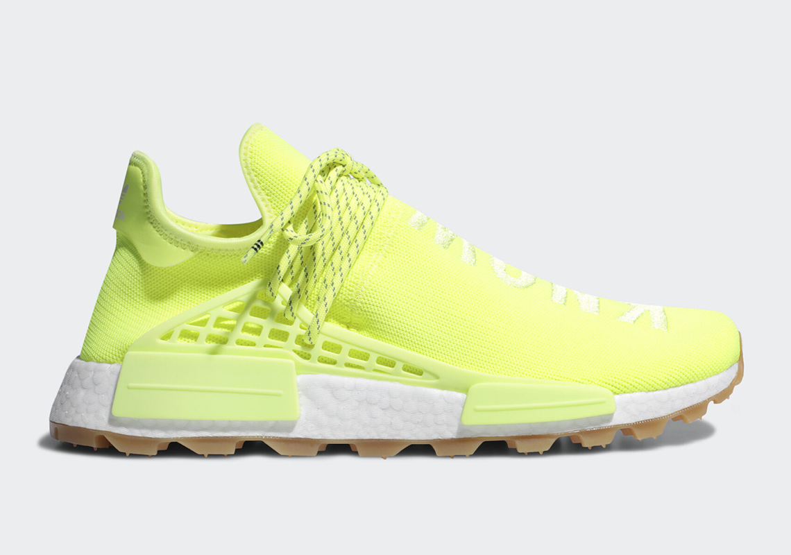Pharrell x adidas NMD Hu Trail Know/Soul 货号:EF2335
