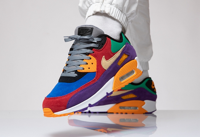 "Air Max 90 ""Viotech"" 货号:CD0917-600"