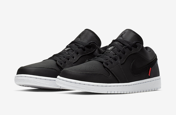 "Air Jordan 1 Low ""PSG"" 货号:CK0687-001"