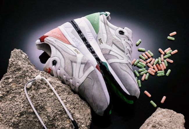 "Afew x Diadora N9000 ""Highly Addictive"" 发售日期:9 月 7 日"