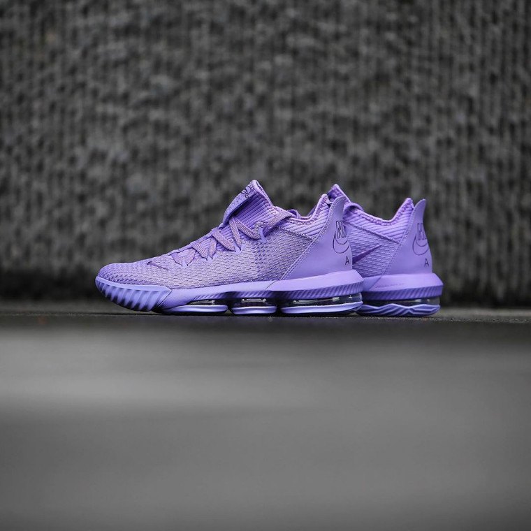 Nike LeBron 16 Low 货号:CI2668-500