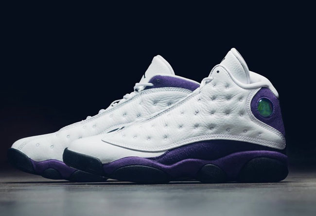 "Air Jordan 13 ""Lakers"" 货号:414571-105"