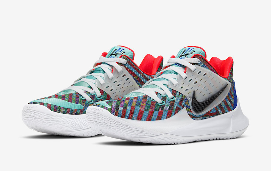 "Nike Kyrie Low 2 ""Multi-Color"" 货号:AV6337-400"