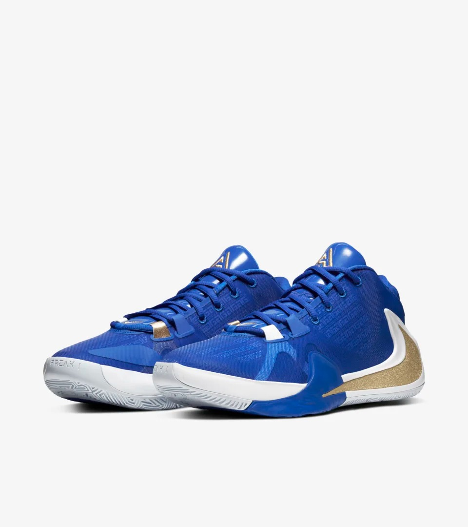 "Nike Zoom Freak 1 ""Greece"" 货号:BQ5422-400"