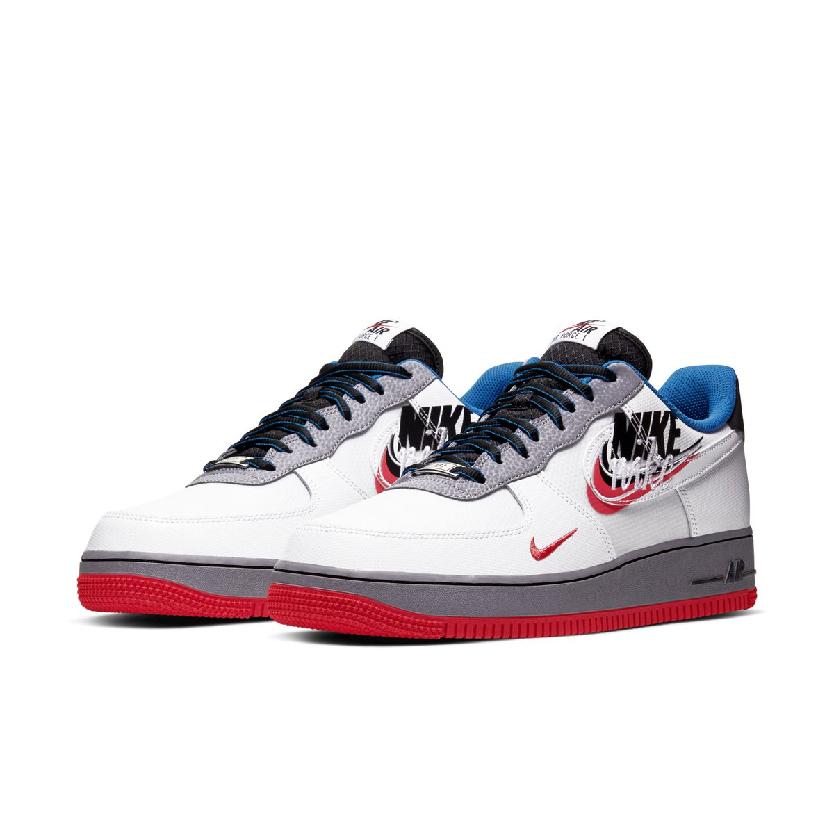 全新 Nike  Air Force 1 双勾设计