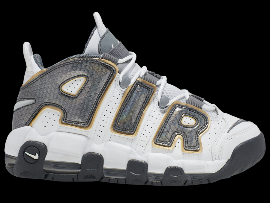 Nike Air More Uptempo GS 货号:CQ4583-100