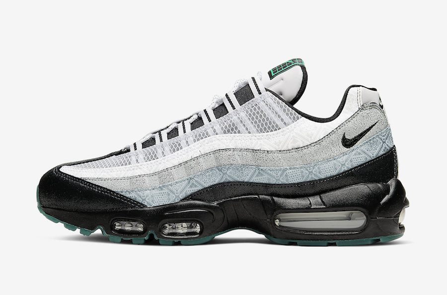 Nike Air Max 95「亡灵节」配色Day of the Dead