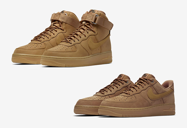 "全新 Nike Air Force 1 High ""Wheat / Flax"" 小麦色"
