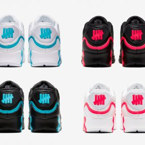 UNDEFEATED x Nike Air Max 90 货号:CJ7197-001/002/003/004/101/102/103/104