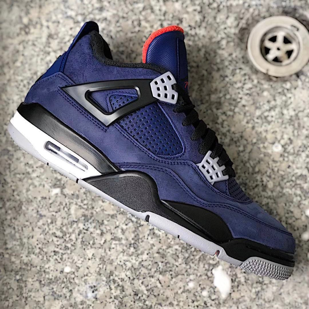 "Air Jordan 4 WNTR ""Loyal Blue"" 精仿鞋 货号:CQ9597-401"