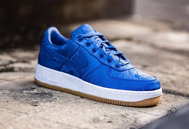 CLOT x Nike Air Force 1 PRM 货号:CJ5290-400