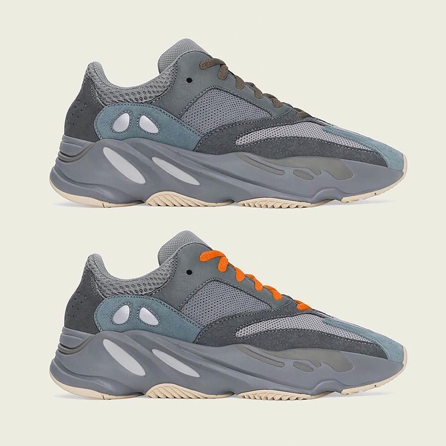"Yeezy Boost 700 ""Teal Blue"" 发售日期:10 月 19 日"