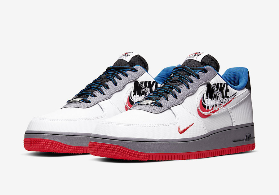 "Nike Air Force 1 ""Script Swoosh"" 货号:CT1620-100"