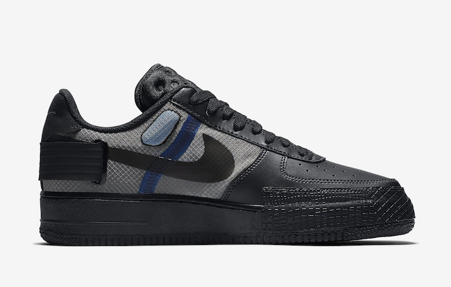 Nike Air Force 1 Type 黑武士 货号:AT7859-001