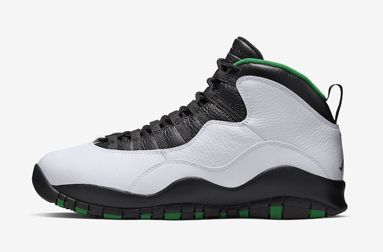 "Air Jordan 10 ""Seattle"" 货号:310805-137"