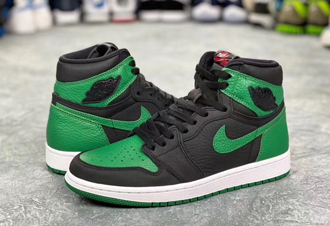 "Air Jordan 1 Retro High OG ""Pine Green"" 货号:555088-030"