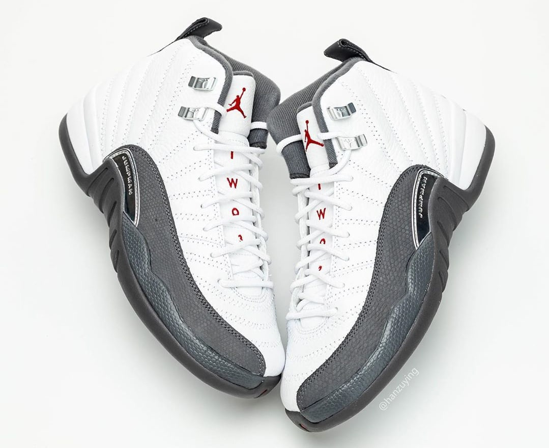 "Air Jordan 12 ""Dark Grey"" 货号:130690-160"