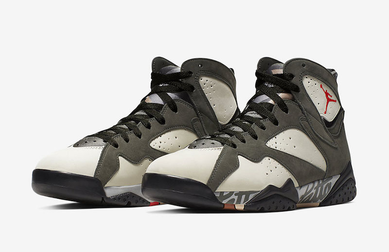 "Patta x Air Jordan 7 ""Icicle"" 货号:AT3375-100"