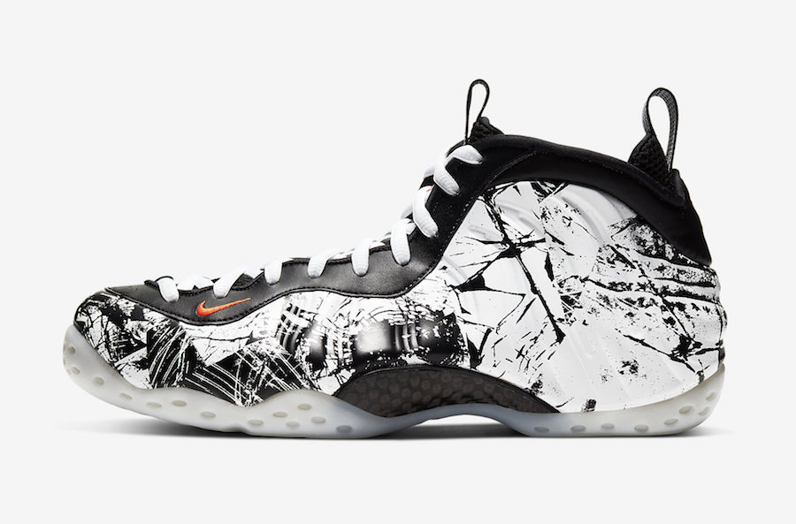 "Nike Air Foamposite One ""Shattered Backboard"" 货号:314996-013"