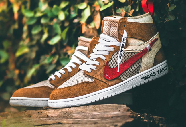 Mars Yard x OFF-WHITE x Air Jordan 1联名配色,即将发售