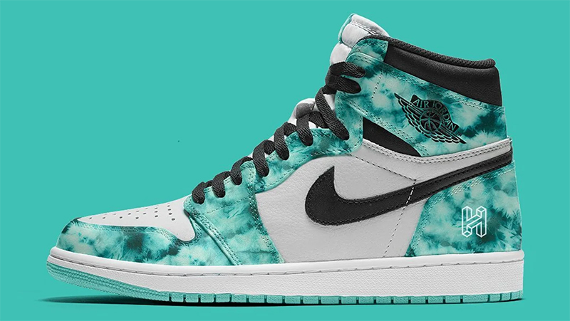 "Air Jordan 1 High OG WMNS ""Tie-Dye"" 货号:CD0461-100"