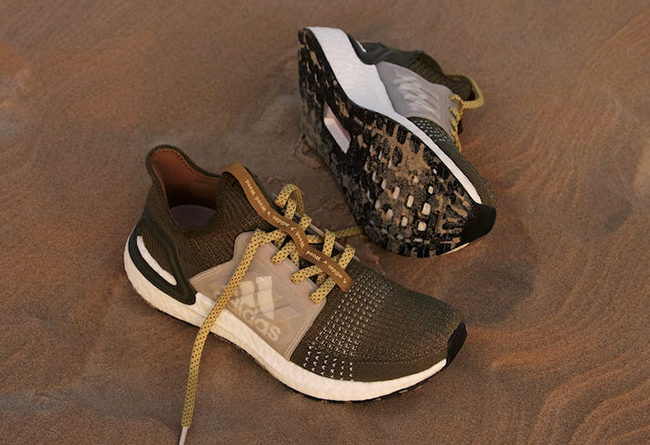 Wood Wood x adidas Ultra Boost 19 货号:EG1727