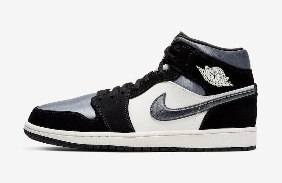 "Air Jordan 1 Mid ""Satin"" 货号:852542-011"