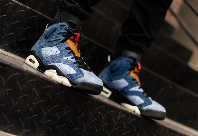"Air Jordan 6 ""Washed Denim"" 货号:CT5350-501"