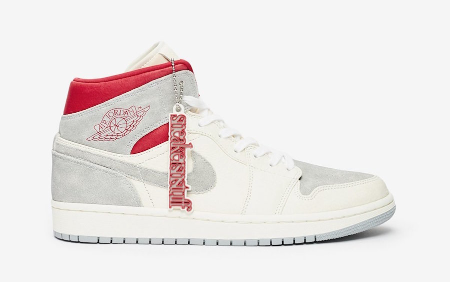 "联名来袭,SNS x Air Jordan 1 Mid ""20th Anniversary""即将发售"