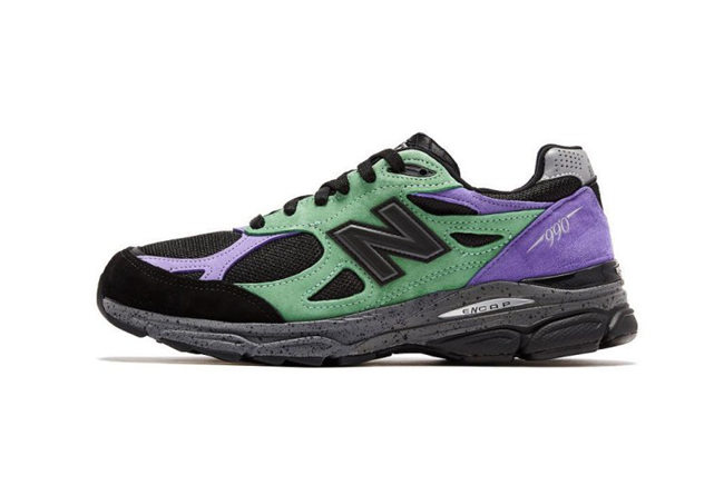 "Stray Rats x DC x New Balance 990v3 ""The Joker"" 发售日期:2019 年 12 月"