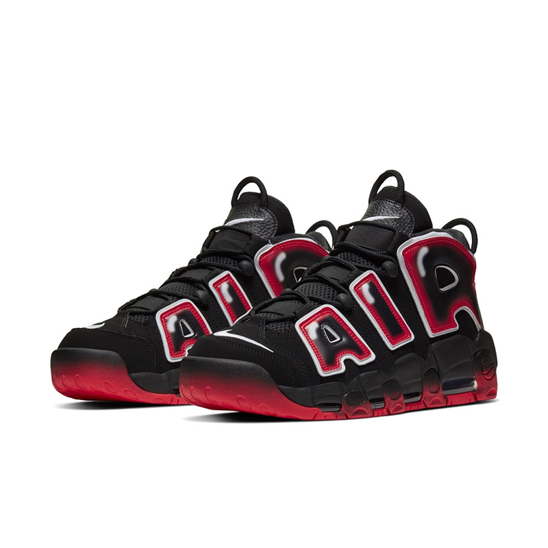 "Air More Uptempo 96 ""Laser Crimson"" 货号:CJ6129-001"