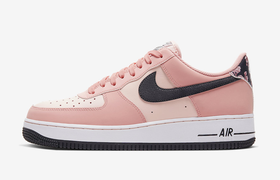 "Nike Air Force 1 ""Pink Quartz"" 货号:CU6649-100"