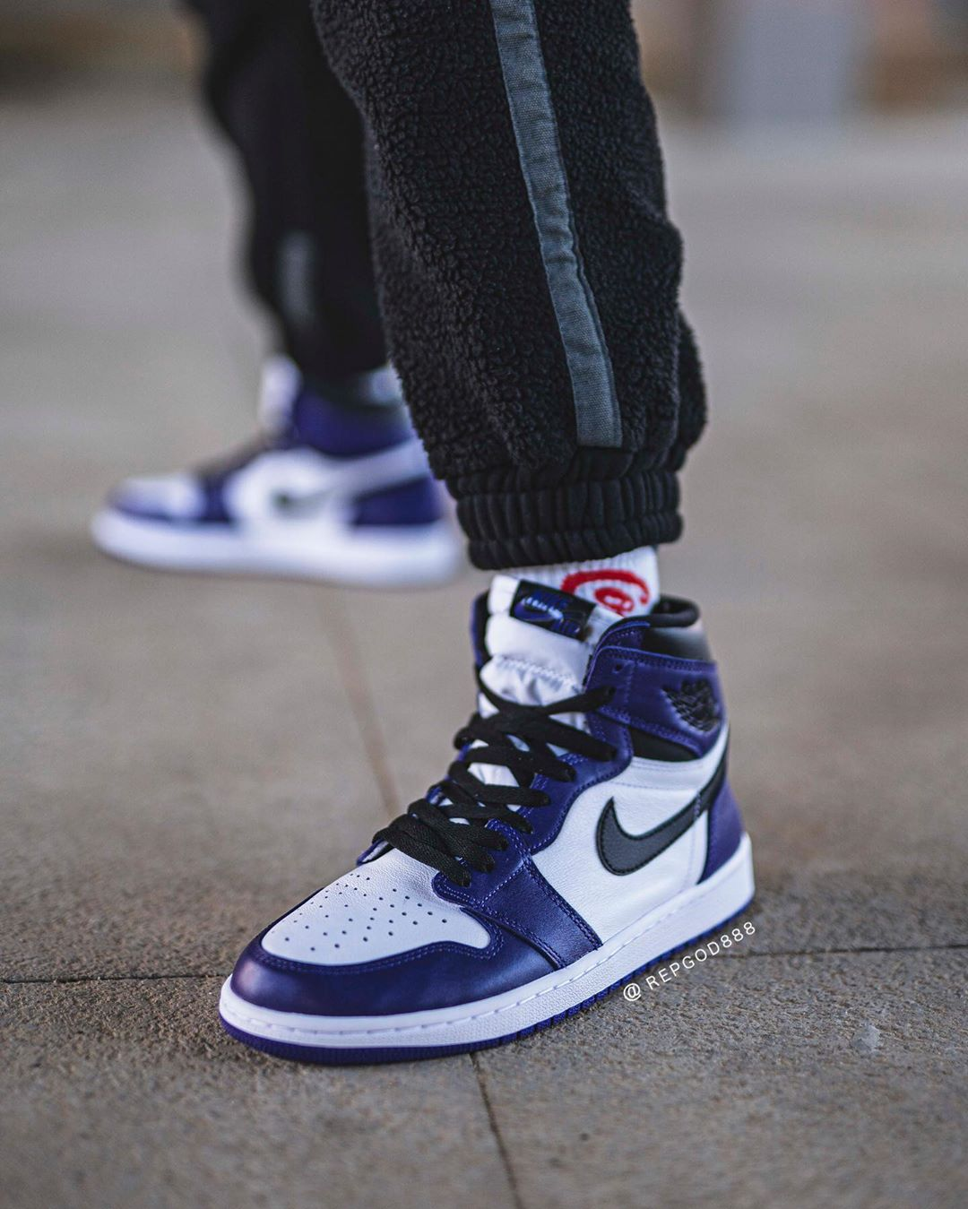 "Air Jordan 1 ""Court Purple"" 货号:555088-500"