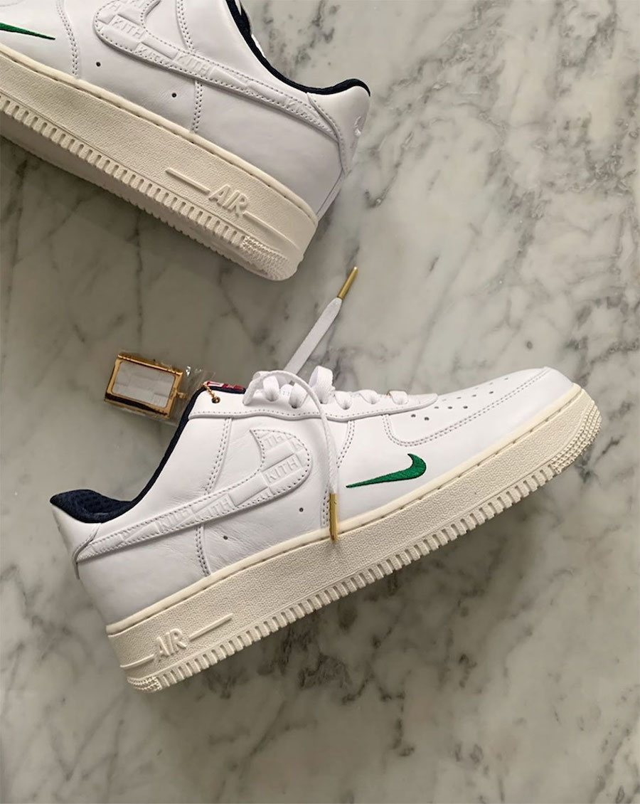 KITH x Nike Air Force 1 Low 发售日期:2020 年春季