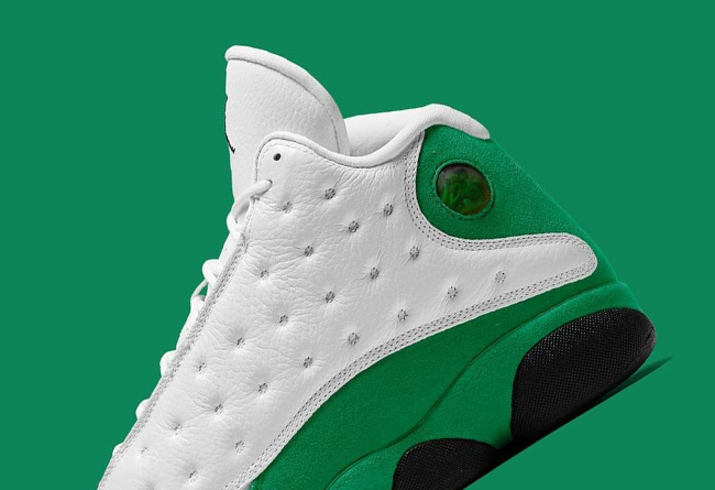 "Air Jordan Retro 13 ""Celtics"" 货号:414571-113"