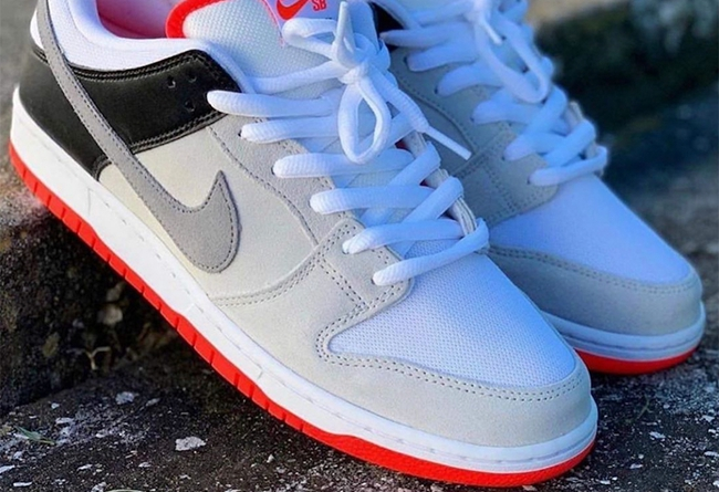 "Nike SB Dunk Low ""Infrared"" 发售日期:1 月 20 日"