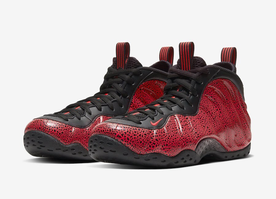 "Nike Air Foamposite One ""Lava"" 货号:314996-014"