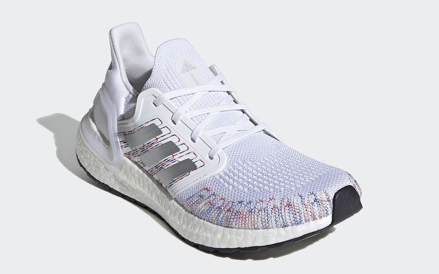 "adidas Ultra Boost 2020 ""Multi-Color"" 货号:EG0711(黑)/EG0728(白)"