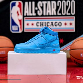 "Just Don x RSVP x Nike Air Force 1 High ""All Star"" 货号:CW3812-400"
