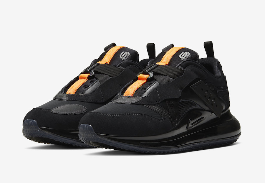 "Nike Air Max 720 Slip OBJ ""Black""  货号:DA4155-001"
