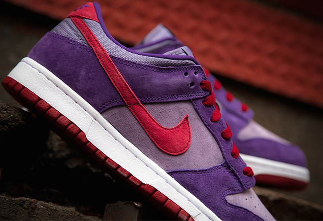 "Nike Dunk Low ""Plum"" 货号:CU1726-500"
