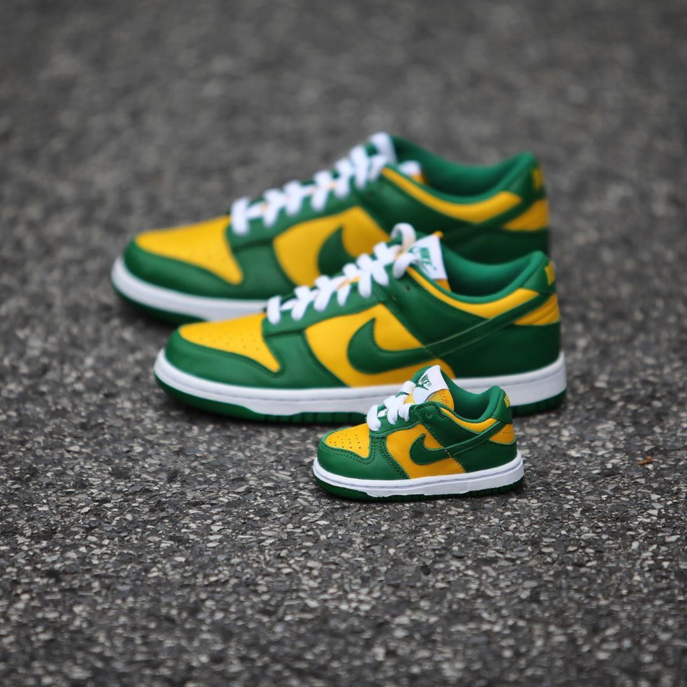 "Nike Dunk Low SP ""Brazil""货号:CU1727-700"