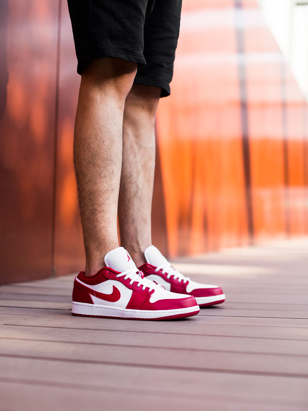 "Air Jordan 1 Low ""Gym Red""货号:553558-611"