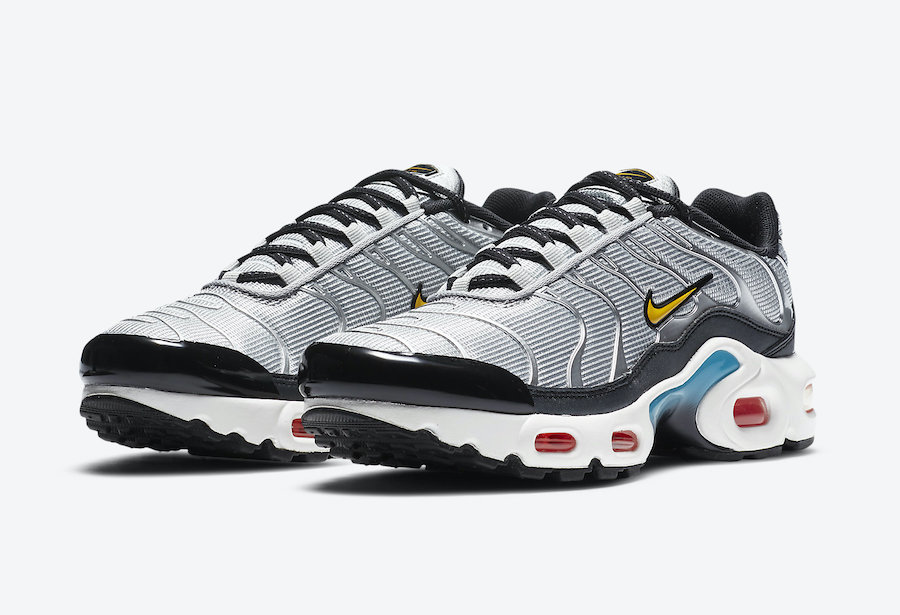 "Nike Air Max Plus GS ""Sky Nike""货号:CW6010-001"